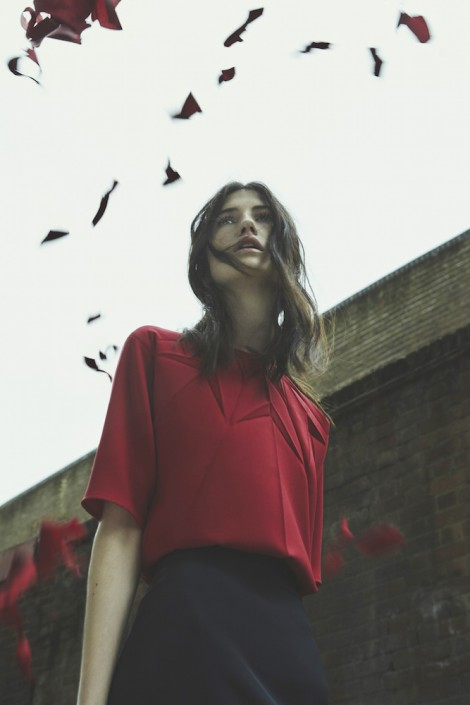 GEORGIA HARDINGE AW15 - Top - UK garment manufacture Plus Samples