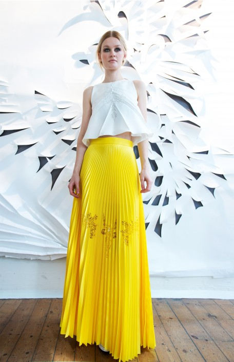 GEORGIA HARDINGE SS16 - TOP AND SKIRT