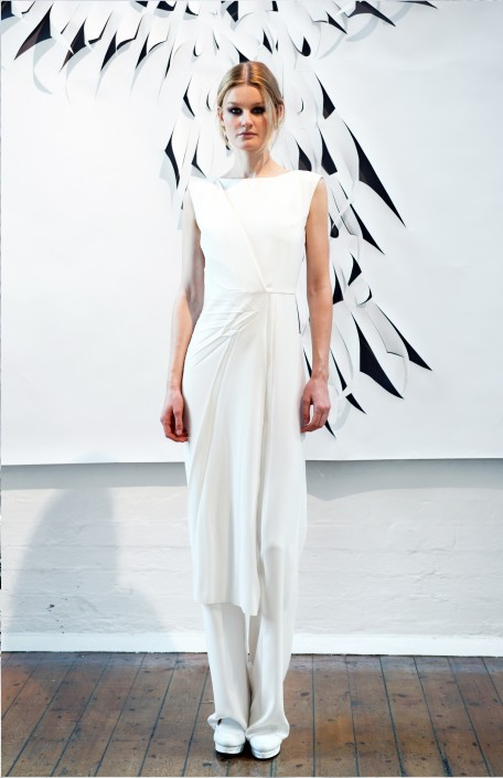 GEORGIA HARDINGE SS16 - WHITE DRESS