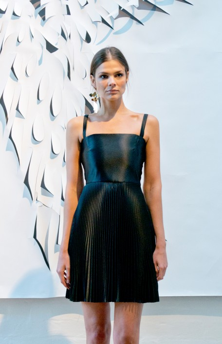 GEORGIA HARDINGE SS16 - BLACK DRESS
