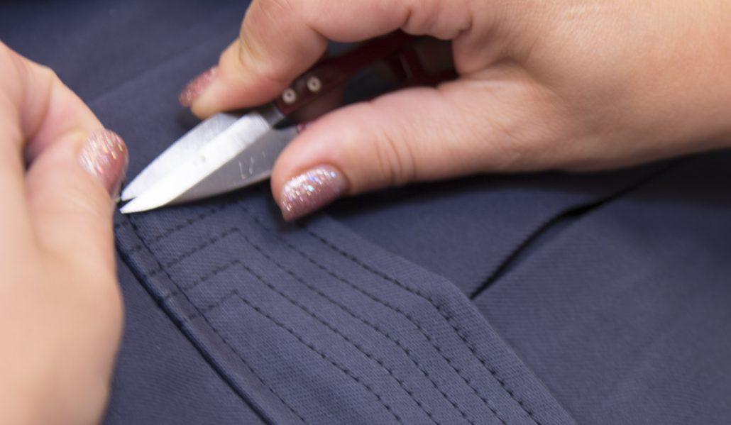Pocket Flap Topstitching