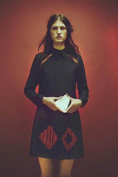 GEORGIA HARDINGE AW15 - Skirt - UK garment manufacture Plus Samples