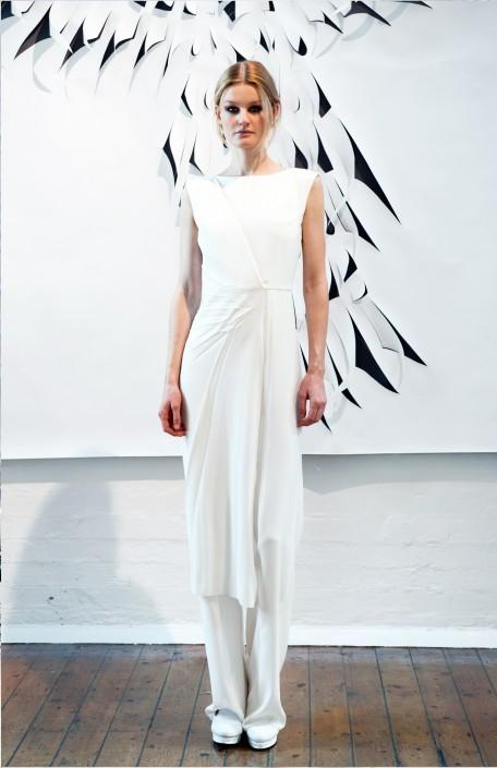 GEORGIA HARDINGE SS16 - WHITE DRESS
